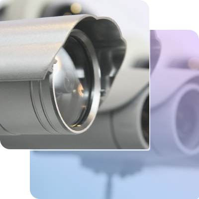 CCTV security systems for industrial area